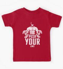 Roronoa Zoro Train Hard And Push Your Limit  Kids Tee