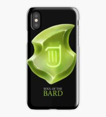 Soul of the Bard -black iPhone Case