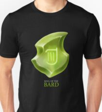 Soul of the Bard -black Unisex T-Shirt