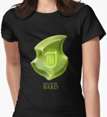 Soul of the Bard -black Women's Fitted T-Shirt