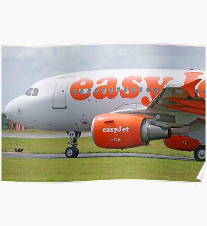 Airbus 319-111 easyJet Poster