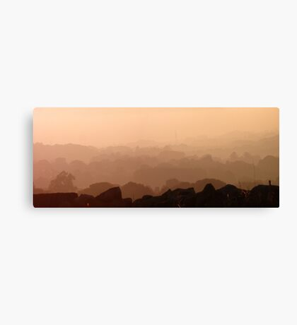 Layers in the Mist Canvas Print
