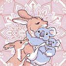 Love Hug. Dear baby by isfeather