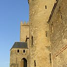 Tower in Carcassonne. by Annbjørg  Næss