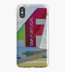Air Portugal (TAP) Airbus A320 tail livery iPhone Case