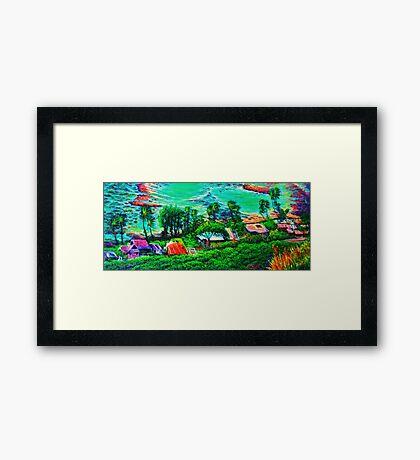 Shore Line Framed Print