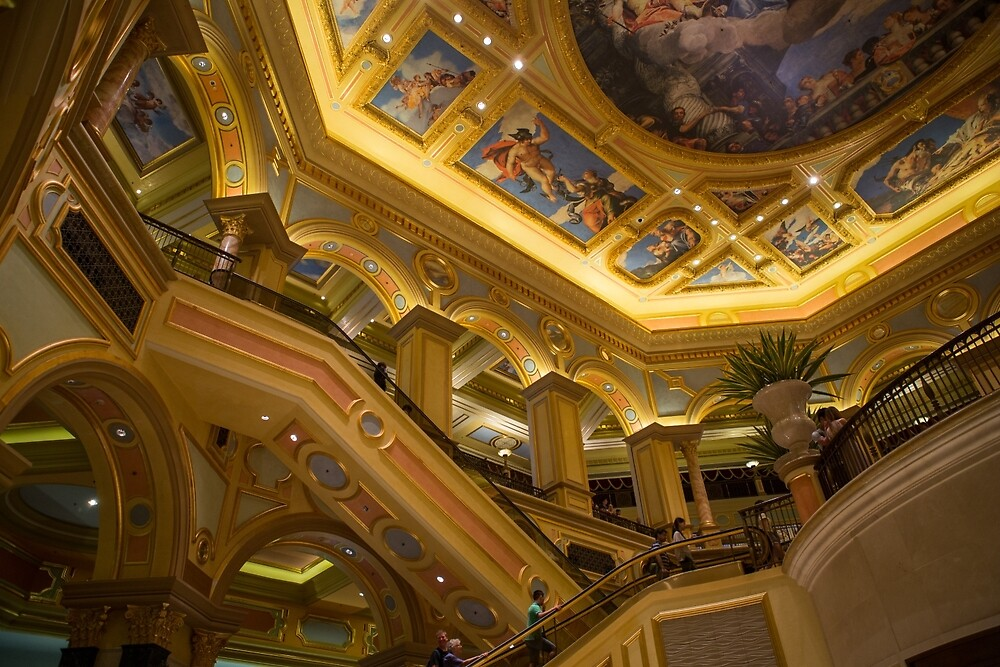 The Venetian Macau Resort Hotel & Casino by Frank Moroni