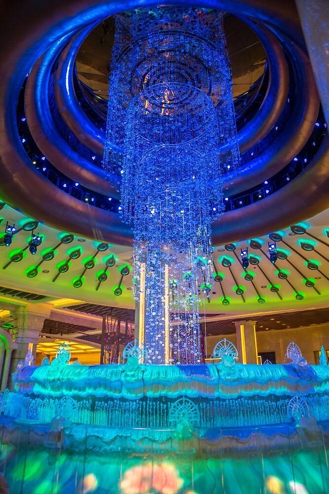Fortune Diamond Fountain Galaxy Hotel Macau by Frank Moroni