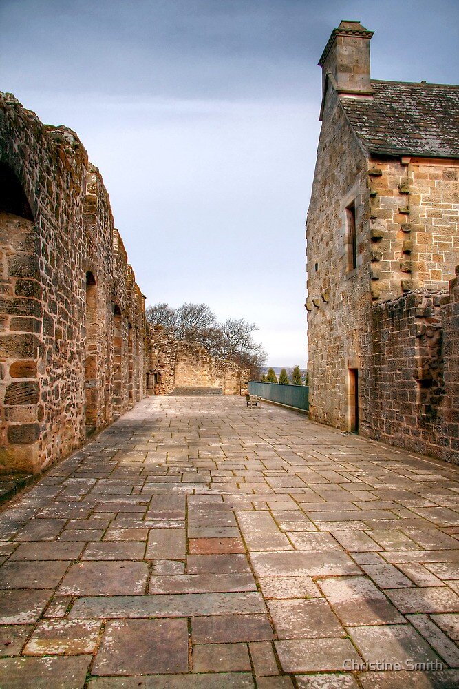 The East Quarter, Falkland Palace by Christine Smith