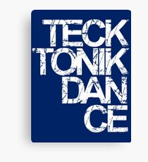 Tecktonik Dance Canvas Print