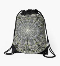 STONE WALL MANDALA Drawstring Bag