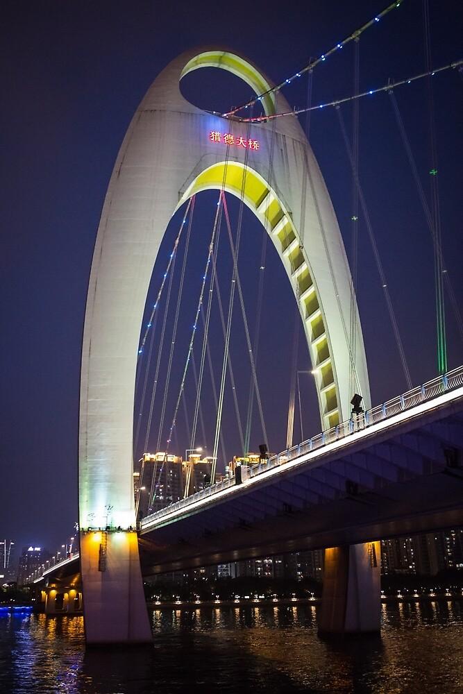Liede Bridge Guangzhou by Frank Moroni