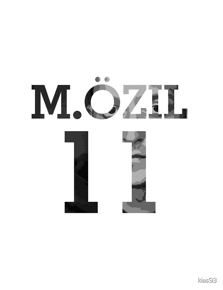 Mesut Ozil - Black & White by kias93