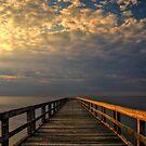 Wooden Pier by Michael Mill