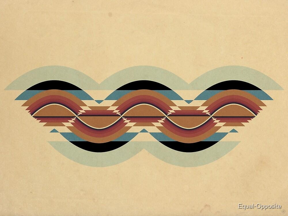 """Navajo Pattern"" Sinusoidal Waveform by Equal-Opposite"