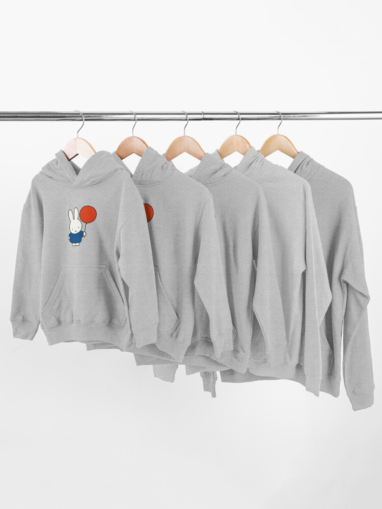 Alternate view of Nijntje - Miffy with a balloon Kids Pullover Hoodie