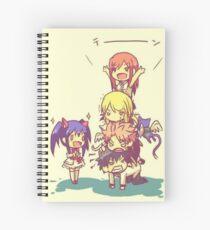 Chibi Fairy Tail Spiral Notebook