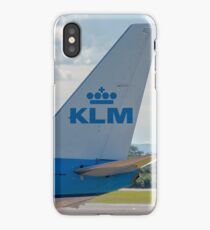 KLM Royal Dutch Airlines Boeing 737 tail livery  iPhone Case