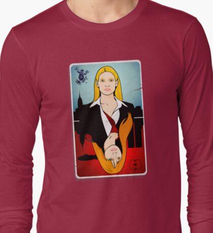 Olivia VS Fauxlivia   Fringe T-Shirt