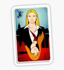 Olivia VS Fauxlivia | Fringe Sticker