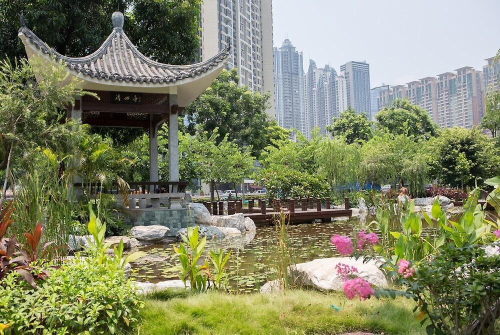 Guangzhou City Gardens by Frank Moroni