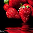 Juicy Red Berries.... by Robin Reidy