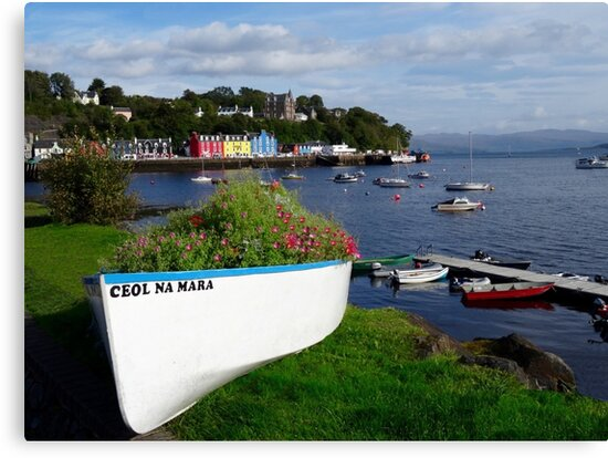 Tobermory, Isle of Mull Scotland by FollowingTLites
