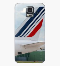 Air France Airbus A320 tail livery Case/Skin for Samsung Galaxy