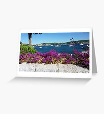 Villefranche Greeting Card