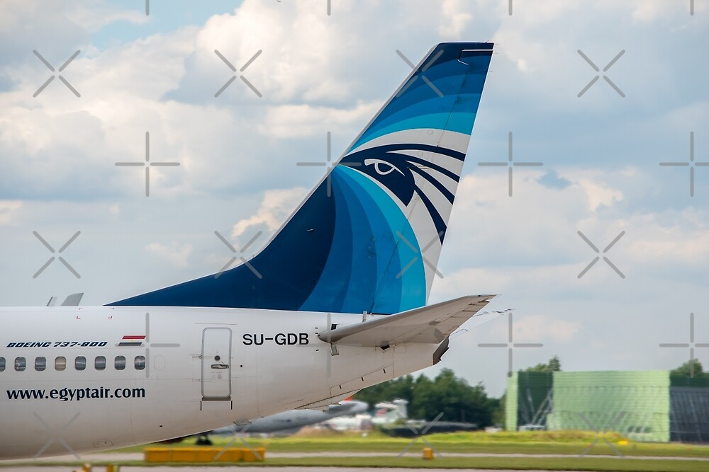 EgyptAir Boeing 737 tail livery by Russell102