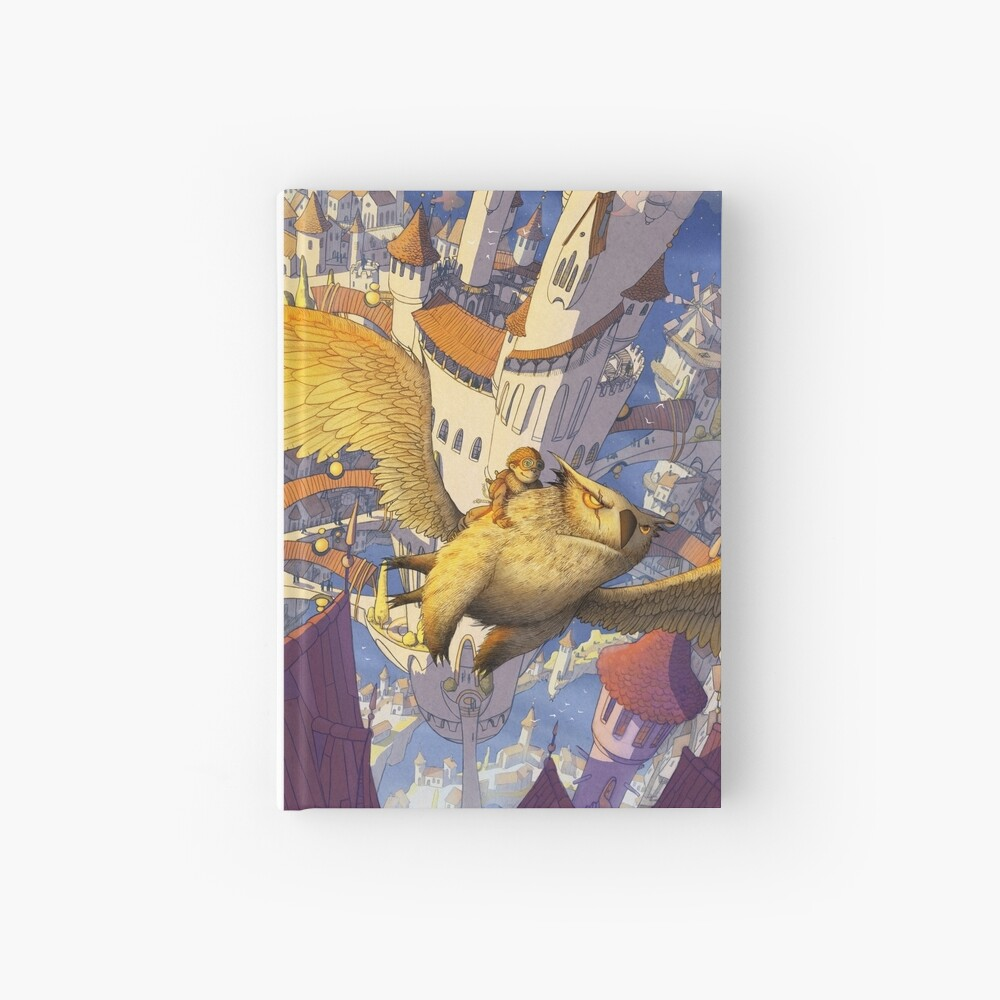 The spiral city Hardcover Journal