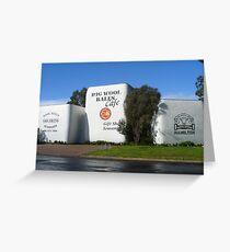 Big Wool Bales, Hamilton, Victoria Greeting Card