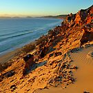 Coloured Sands at sunrise. Rainbow Beach, Queensland, Australia. by Ralph de Zilva
