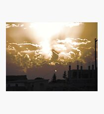 Wild Sunset Photographic Print