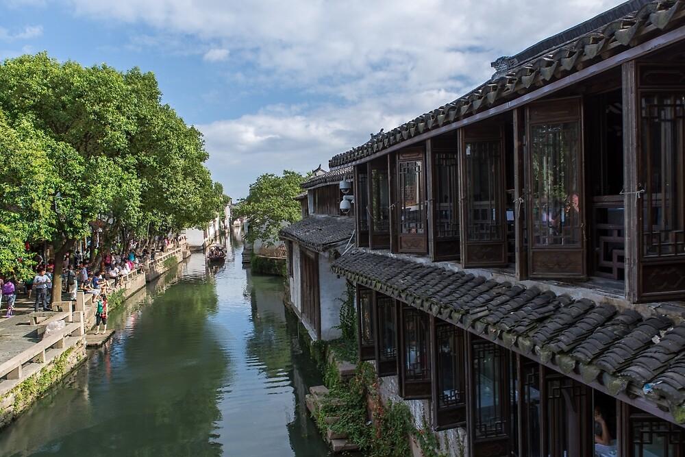 Water Village of Zhouzhuang by Frank Moroni