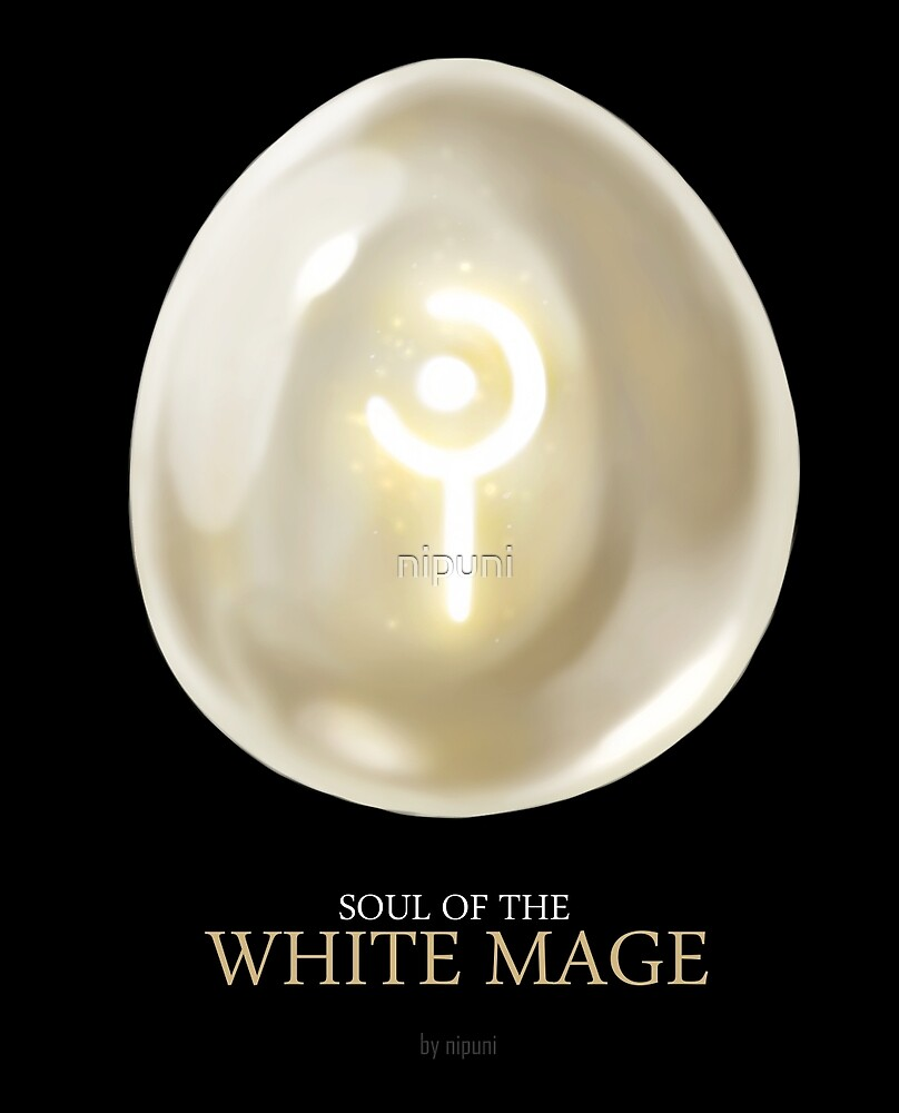Soul of the White Mage -black by nipuni