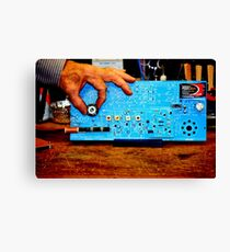 Ham AM Radio Canvas Print