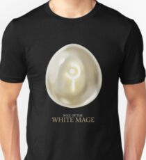 Soul of the White Mage -black Unisex T-Shirt