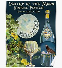 Valley of the Moon Vintage Festival 2011 Poster