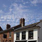 Chimney Pot skyscape by BizziLizzy
