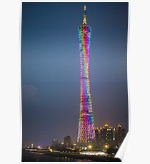 Kantonsturm Guangzhou Poster