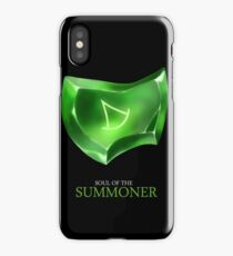 Soul of the Summoner -black iPhone Case