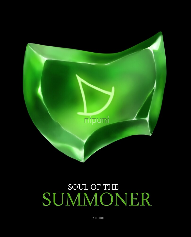 Soul of the Summoner -black by nipuni