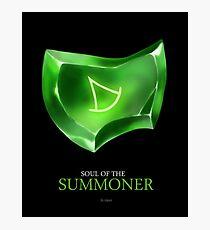 Soul of the Summoner -black Photographic Print