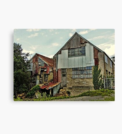 The Old Woodmill Canvas Print
