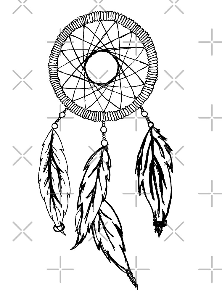 dream catcher sketch by NemJames