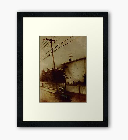 Wanted Man Framed Print