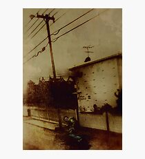 Wanted Man Photographic Print