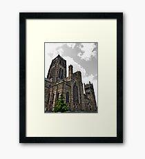 Durham Cathedral In Durham Framed Print