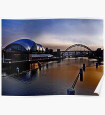Tyneside Newcastle  Poster